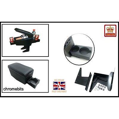 Universal Black Quality Arm rest Armrest Centre Console for car van bus New