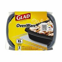 Glad Food Storage Containers Ovenware 96 Ounce 2 Count (pack Of... Free Shipping