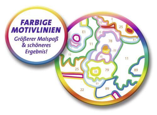 Ravensburger Malen nach Zahlen 28639 Kleine Löwenbabys 24 cm x 18cm Komplettset