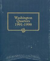 Whitman Classic Washington Quarter 1991-1998 Album 9123