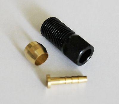 Alligator Hydraulic brake hose Olive//Bushing Inserts Nuts Caps Fittings set Avid
