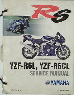 YAMAHA YZF-R6L YZF-R6CL SERVICE REPAIR MANUAL
