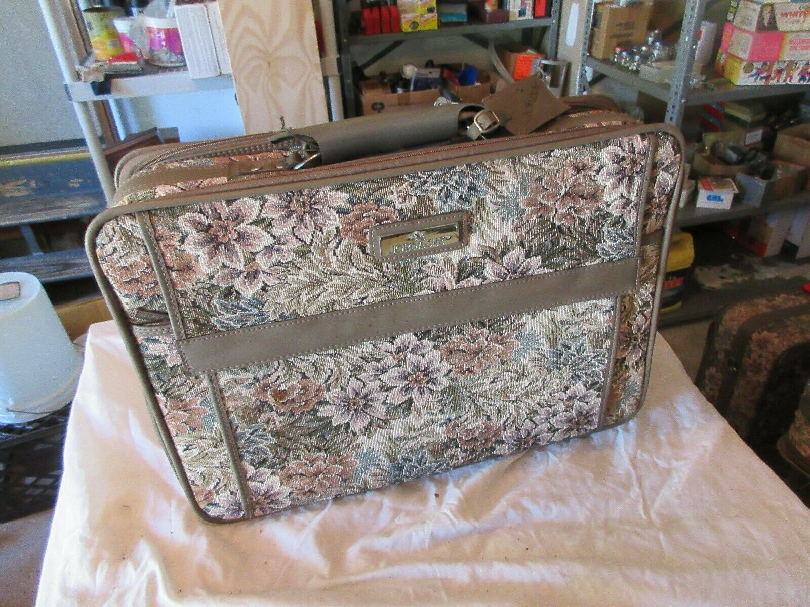 """Jordache Collection , Luggage , Approx. 20""""X6""""X14"""", New"""