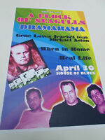 "A FLOCK OF SEAGULLS Concert Poster 80'S LIVE San Diego House of Blues 11""x17"""