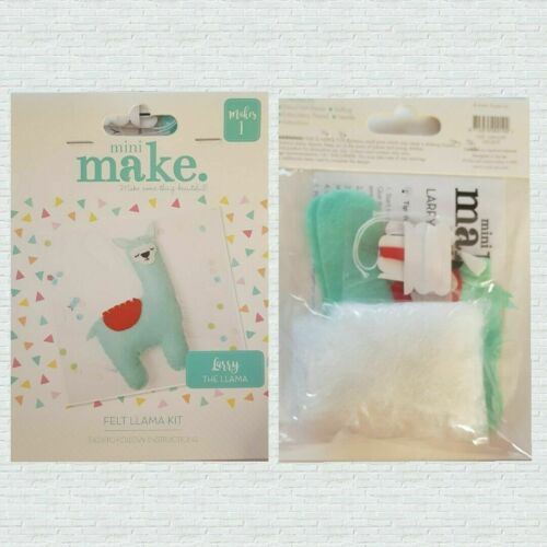 Mini Makes Sewing Craft Kit Teens-Adults ~ Elephant Doll Dinosaur Seahorse Llama