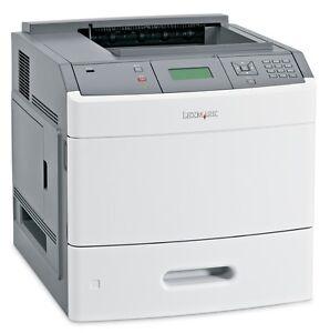 Image Is Loading Lexmark T654n Laser Printer Refurbished With 90 Day