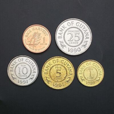 CANADA SET 6 COINS 1 5 10 25 50 CENTS 1 DOLLAR 2013 QE II UNC