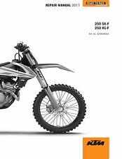 ktm 250 sx f 250 xc f owners manual 2017 service booket borchure ebay rh ebay co uk 2008 ktm 250sxf owners manual 2008 ktm 250sxf service manual