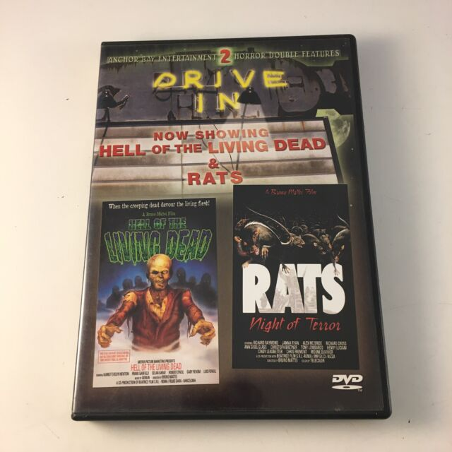 Hell of the Living Dead/Rats, Night of Terror (Blu-ray