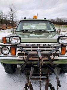 1978 Dodge W150 4x4 $7900.00