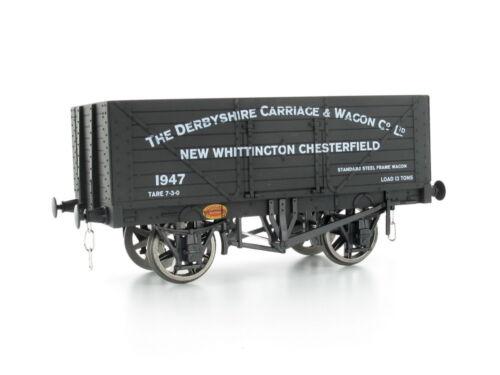 Dapol 7F-080-027 offener Güterwagen 8 plank Derbyshire Carriage No.1947 Spur 0