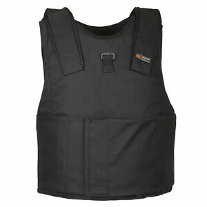 Light-Weight-Concealed-Body-Armor-Bullet-Proof-Black-Vest-NIJ-level-IIIA-3A