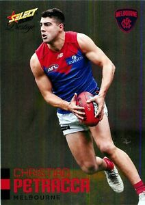 New-2020-MELBOURNE-DEMONS-AFL-Card-CHRISTIAN-PETRACCA-Footy-Stars-Prestige