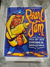 Pearl Jam Wrigley Field Chicago 7/19/2013 Hot Dog Munk One