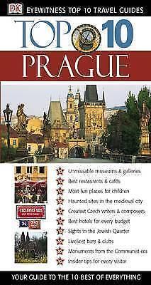 "1 of 1 - ""VERY GOOD"" Prague (Eyewitness Top Ten 10 Travel Guides), Schwinke, Theodore, Bo"