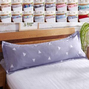 Image Is Loading Bed Sofa Sleep Pillowcase Protector Long Body Pillow