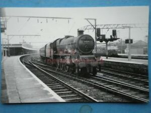 PHOTO  LMS STANIER JUBILEE 460 45578 UNITED PROVINCES AT EDGELEY 18263 - Tadley, United Kingdom - Full Refund less postage if not 100% satified Most purchases from business sellers are protected by the Consumer Contract Regulations 2013 which give you the right to cancel the purchase within 14 days after the day you receive th - Tadley, United Kingdom