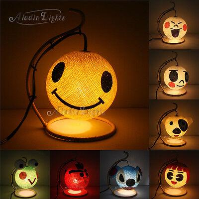 GaiaShine Cotton Ball Caricature Table Lamp Kid's Room/Playroom/Night Light UK