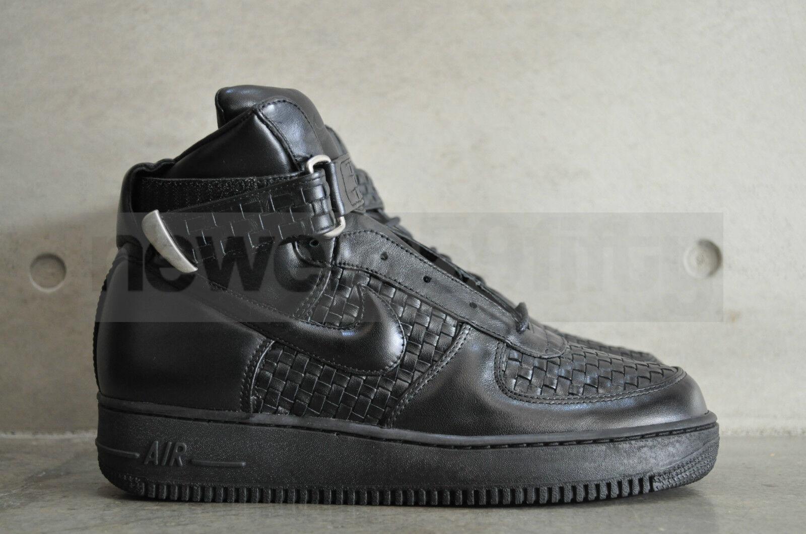 Nike Force 1 alta Lux ItaliaNegro/Negro hecho Air en ItaliaNegro/Negro Lux b0d253