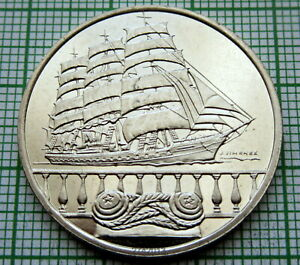 HOLLAND-NETHERLANDS-2000-AMSTERDAM-SAIL-5-FLORIN-NICE-SAILING-SHIP-UNC