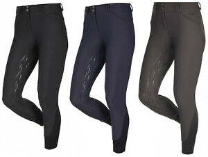LeMieux-DRYTEX-Waterproof-Windproof-Ladies-Warm-Fleece-Breeches-Black-Navy-Taupe