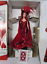 1994 Bob Mackie Queen of Hearts Barbie w Concept Drawing New
