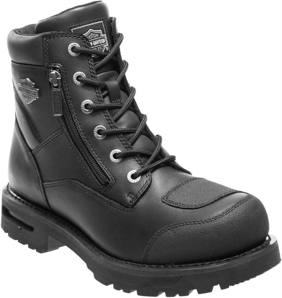 Harley-Davidson ® para hombre negra cuero moto Tectuff Renshaw botas D96136