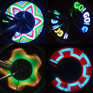 32Modele-LED-Velo-Roue-Pneu-Parlait-Signal-Lumiere-Pour-Bicyclette-securite