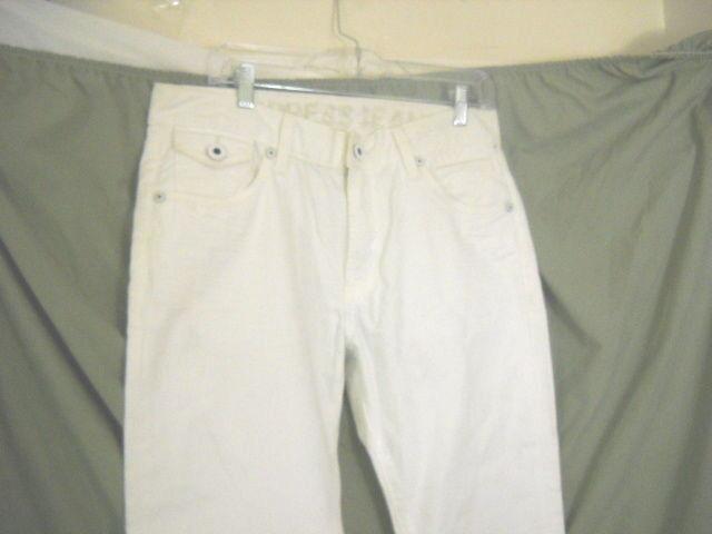 EXPRESS Men's White 32x31 Rocco Slim Fit Skinny Jean,   100% cotton NWT