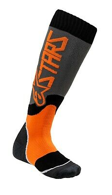 Alpinestars Mens MX PLUS-1 Socks Medium Red//Gray