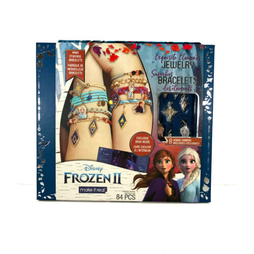 Make it Real Exquisite Elements Jewelry Set 84 Pieces Frozen 2 Disney