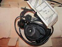 TA-56M military Headphones 100 Ohm (2 x 50 Ohms) NOS NIB (USSR HAM Radio)