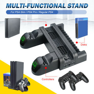 PS4-Slim-Pro-Vertical-Stand-Cooling-Dual-Controller-Charger-USB-Charging-Dock