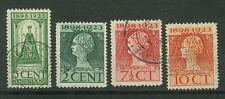Niederlande Briefmarken 1923 Königin Wilhelmine  Mi.Nr.123-26
