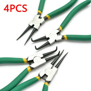 Circlip-Plier-Set-6-034-Snap-Circlip-Ring-Pliers-internal-external-150MM-uk