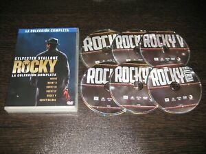 Rocky- Ii-Iii-Iv-V-Balboa (La Collezione Completa) DVD 6 Film Stallone