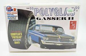 1962-Pontiac-Catalina-POLYGLASS-GASSER-II-Model-Kit-1-25-AMT-NEW-Retro-Deluxe