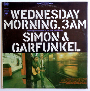 SIMON-amp-GARFUNKEL-034-Wednesday-Morning-3-A-M-034-Vinyl-LP-1965-Columbia-CS-9049