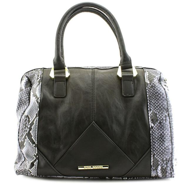 Steve Madden DO258625 Women Black Satchel