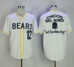 online store c4894 a291b Details about Baseball Jersey Bad News Bears #12 Tanner Boyle Stitched  Numbers Cheap Throwback
