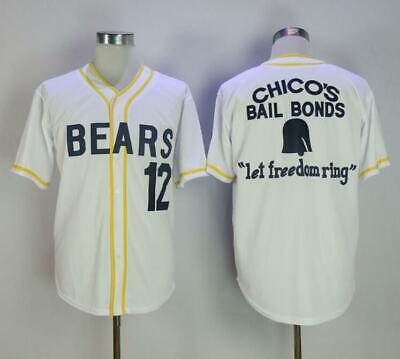 online retailer d83e4 46d66 Baseball Jersey Bad News Bears #12 Tanner Boyle Stitched Numbers Cheap  Throwback | eBay