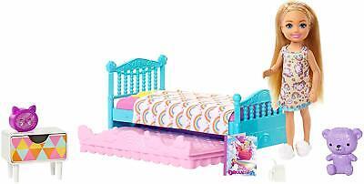 Barbie Bunk Bed Trundle Furniture Doll Playset New Mattel Dollhouse Nib Chelsea Ebay
