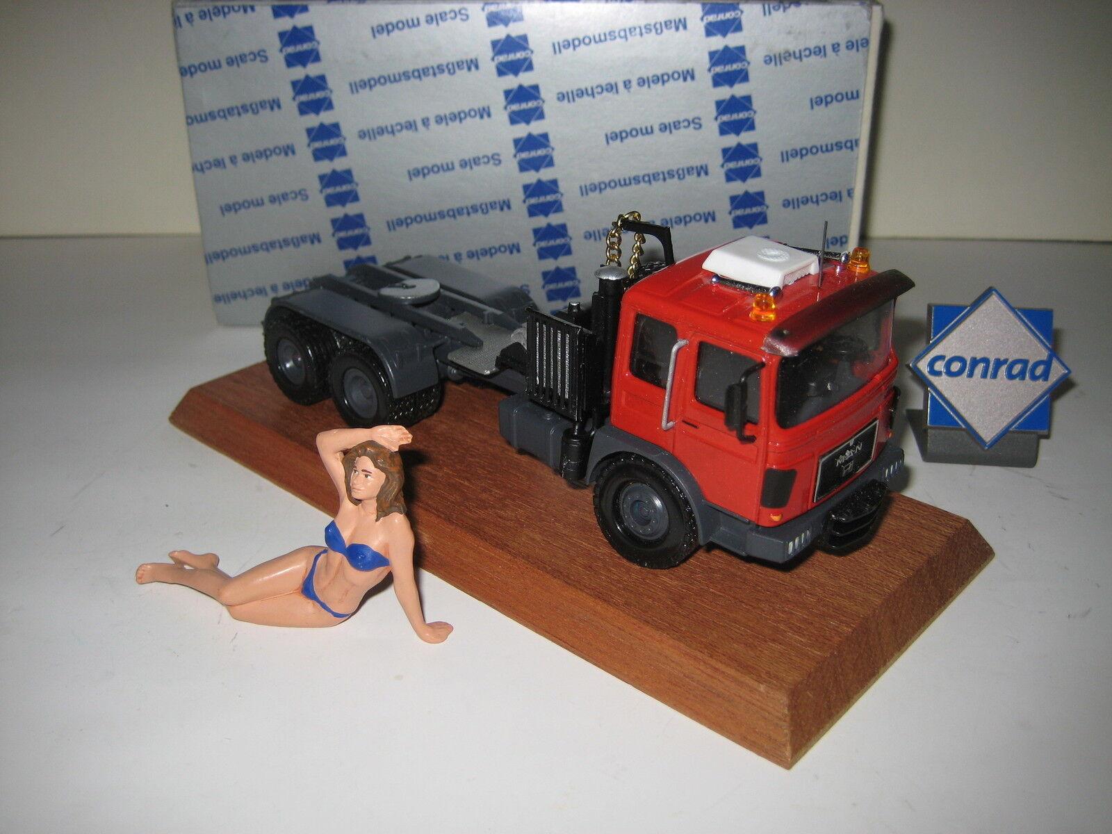 On F 8 4-Axe tracteur    3109 CONRAD 1 50 rare neuf dans sa boîte 9d30ee