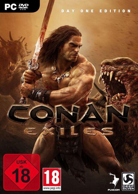 Conan Exiles-d1 incl. bonus-DLC | PC | NUOVO & OVP | Uncut