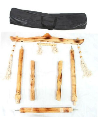Korean traditional Gong Percussion Musical Instrument Stand Large Jing Stands