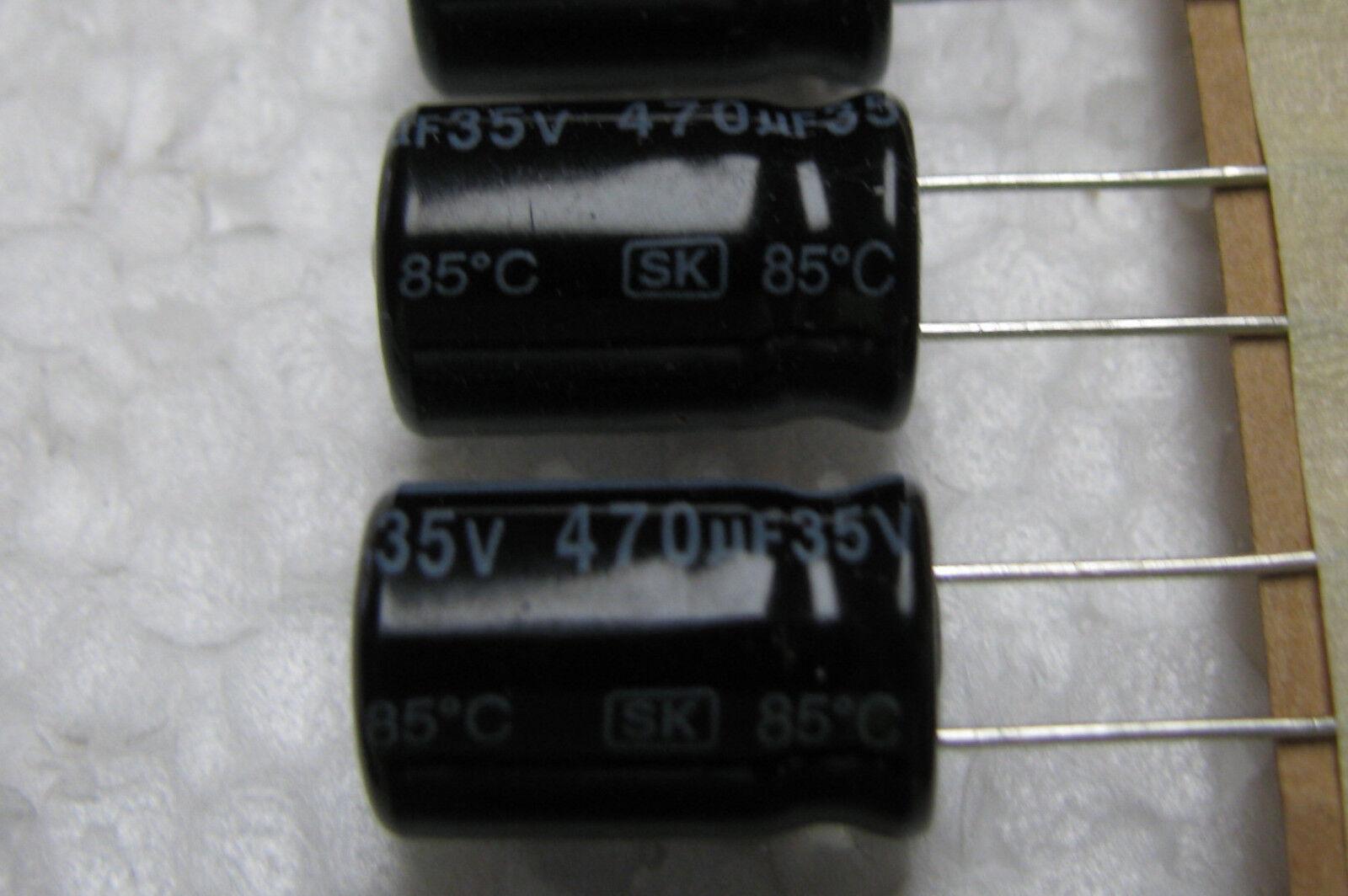 4x 500uF 75V Axial Electrolytic Aluminum Capacitor mfd DC 75VDC 500mfd 85C WBR