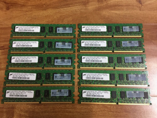 HP 445167-061 HP 20GB 10x 2GB DDR2 PC2-6400 240-Pin CL6 ECC Unbuffer