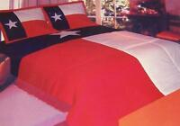 Comforter Bedspread Texas State Flag 100x90 King With 2 Pillow Shams