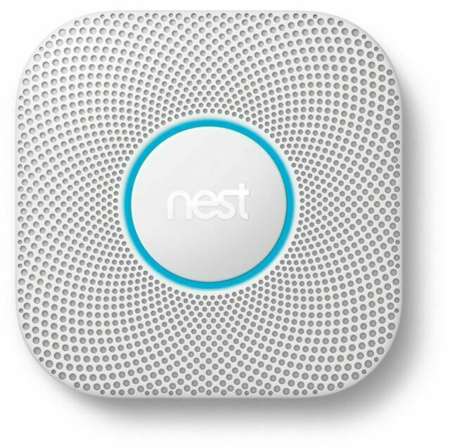 Google Nest Protect 2nd Gen Wired Smoke and Carbon Monoxide