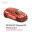 miniature 2 - #12 Renault Mégane RS Médical Car - Norev 1/64 3 inches no majorette